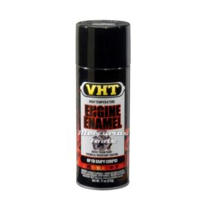 Motorblok lak hittebestendig hoogglans zwart (Gloss black) -VHT SP124