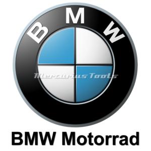 Motorfietslak BMW 1k in spuitbus gemengd Mercurius Tools