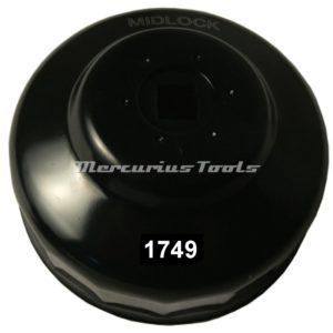 Oliefiltersleutel 95mm 15 kant 38 -Midlock 1749