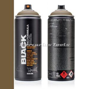 Pan BLK6630 lak in spuitbus 400ml -Montana Black