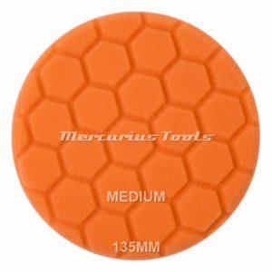Polijstpad medium voor middelfijn werk 135mm -BTC