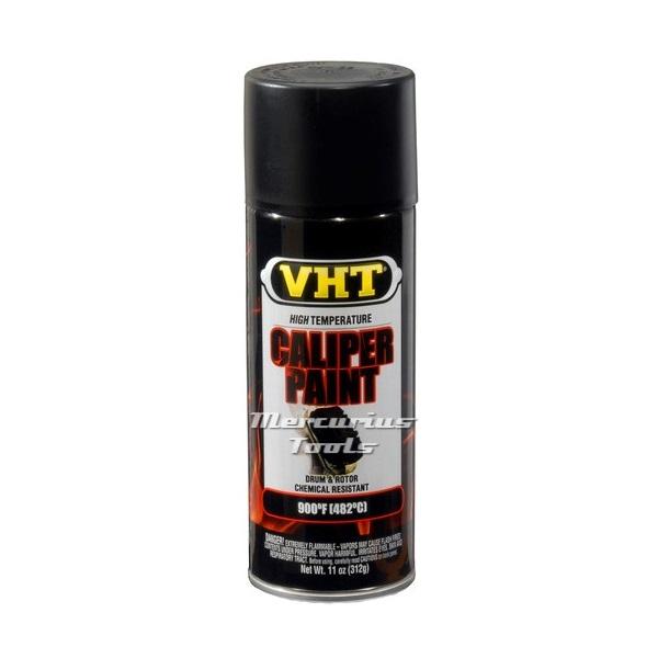 VHT SP739 zijdeglans zwarte remklauwlak