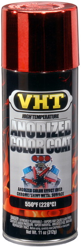 VHT SP450 Red anodised color coat