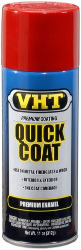 VHT SP501 rode lak Fire red quick coat in 400ml spuitbus