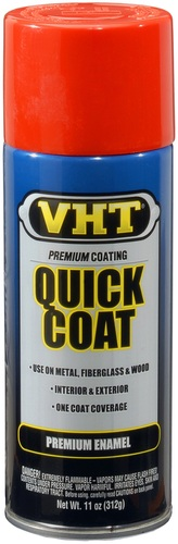 VHT SP503 oranje lak bright orange quick coat in 400ml spuitbus