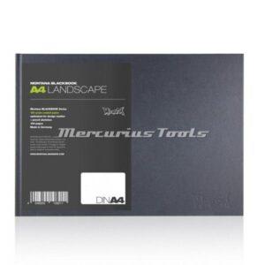 Schetsboek A4 landscape 22x31cm -Montana Black book