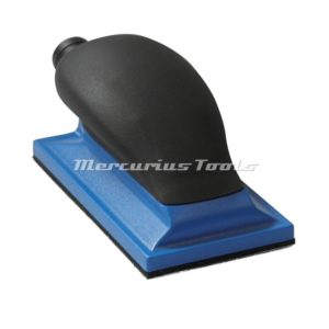 Schuurvijl 70mm x 125mm met stofafzuiging Airo