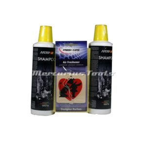 Shampoo was set met spons 2x 500ml -Motip 000756