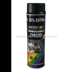 Sprayplast rubber coating mat zwart 500ml -Motip 04301