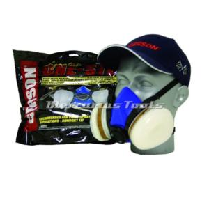 Spuitmasker met actief koolstoffilter FFA2 maat M -Gerson 8211E2