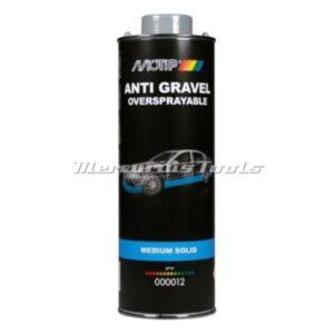Undercoating anti steenslag grijs overspuitbaar 1L onderschroefbus -Motip 000012