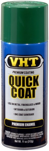 VHT SP512 quick coat forest green