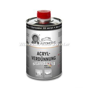 Verdunner (standaard) voor Acryl autolak 1L -Airo
