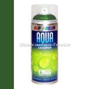 Watergedragen lak bladgroen RAL6002 in 350ml spuitbus -DupliColor Aqualine