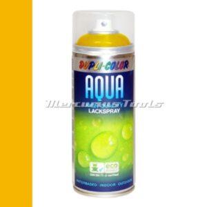 Watergedragen lak koolzaad geel RAL1021 in 350ml spuitbus -DupliColor Aqualine