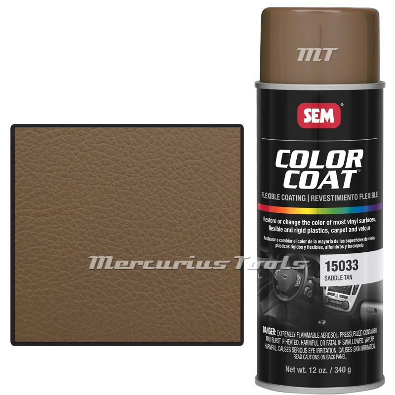 interieurverf bruin saddle tan sem color coat 15033